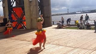 Zhanna Lis  Maohi tribe  Tahitian dance in Russia