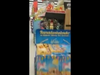 """BRD 2018 - Osterhasen heien jetzt """"Sitting Bunny"""" in einem Berliner Supermarkt, aber wir haben einen """"Ramadan-Kalender"""""""