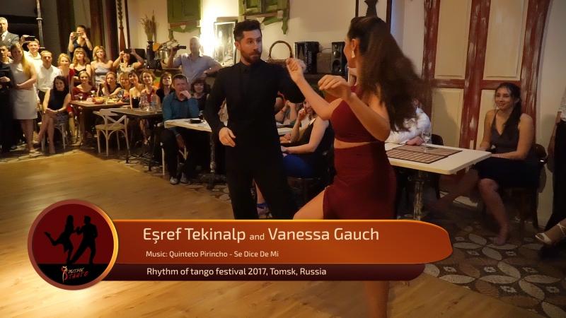 Esref Tekinalp and Vanessa Gauch 3 4 RTF 2017 Tomsk