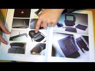 Browsing Through An Apple Industrial Design Book - ASMR