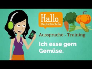 Aussprache Training Lektion 37 / free German course