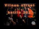 Vilnus street battle 2017. Urban clan