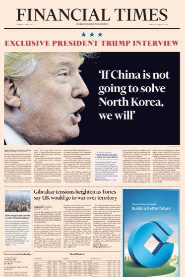 Financial Times Europe - 3 April 2017