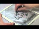Kitchen Lithography Make a Lithographic print using household products