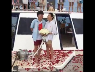 Keng & boy will you marry me?