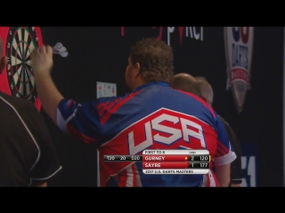 Daryl Gurney vs Dennis Sayre (PDC US Darts Masters 2017 / Round 1)