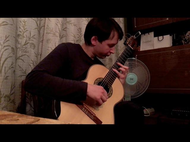 J.S Bach - Prelude for Lute, BWV 999, Guitar Transcription in Dm   Играет: Ученик (Андрей Кольго)