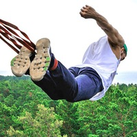 Логотип Земля Прыжков / Rope jumping / Прыжки с веревкой