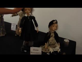 Испания,Аликанте - международная выставка авторских кукол, 2 серия