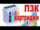 Перезаправляемые картриджи 🔧 для принтера Epson SX130