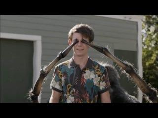 Skittles Giant Talking Spider Halloween Commercial