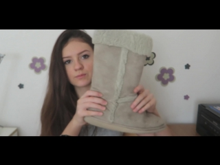 Anastasia ASMR - моя обувь, шепот, триггеры. Russian whisper