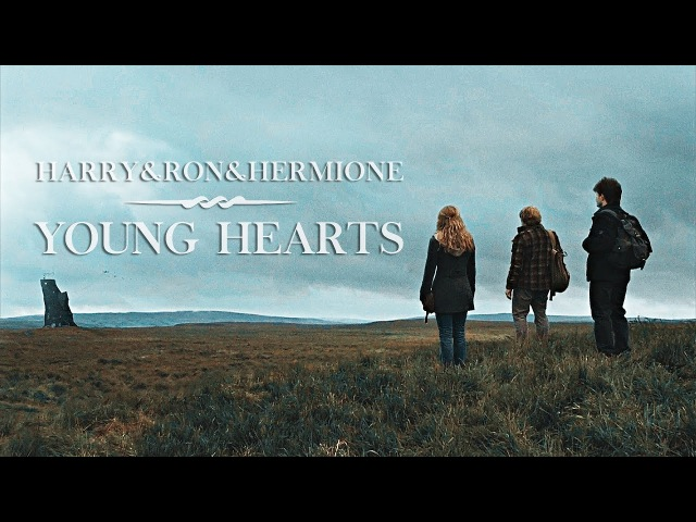 Harry Ron Hermione   Young hearts