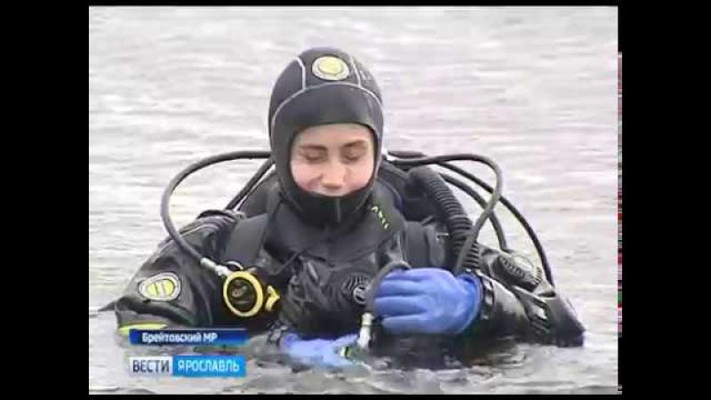 В Брейтовском районе активисты очистили от мусора дно и берег Рыбинского водохр