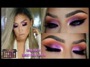 Maquillaje con DESERT DUSK PALETTE de Huda Beauty 3 Labiales Makeup tutorial | auroramakeup