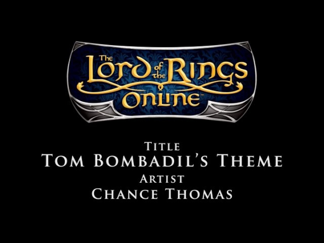 1 Lord of the Rings Online Soundtrack Chance Thomas Tom Bombadil's Theme
