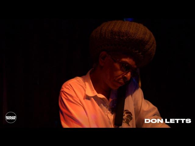 Don Letts Boiler Room London DJ Set