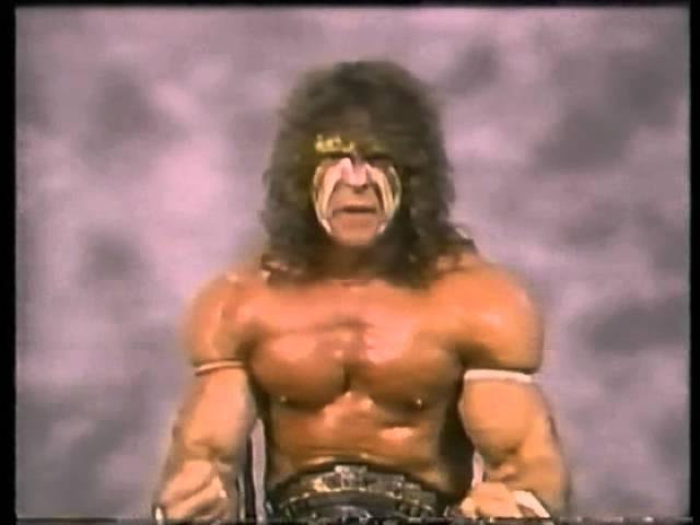 Ultimate Warrior Promo on Rick Rude (01-07-1989)