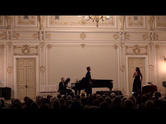 Scena Atanaela i Tais is 2go deystviya operi Massne,,Tais- Maliy sal filarmonii,12.04.2017