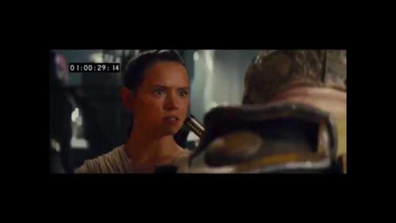 Star Wars Episode VII - Deleted Scene Chewbacca ripping off Unkar Plutt's arm (2017)