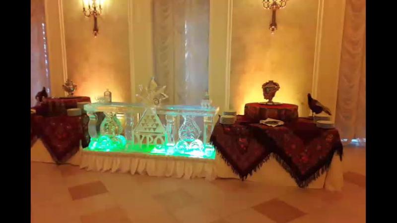 Ледяной бар в Летнем дворце MariaCrystalIce 7-905-204-77-53