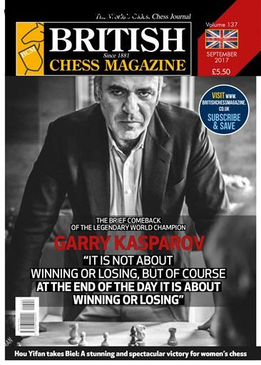 British Chess Magazine September 2017