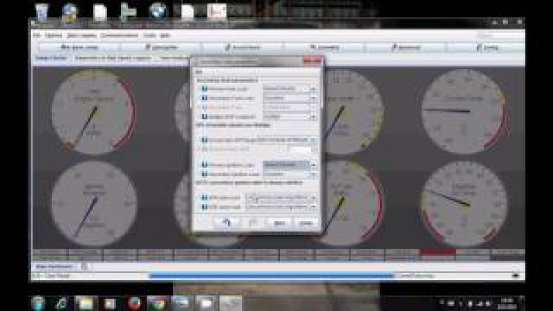 How to turbo BMW m50 m52 engine part 7 Megasquirt settings and first start