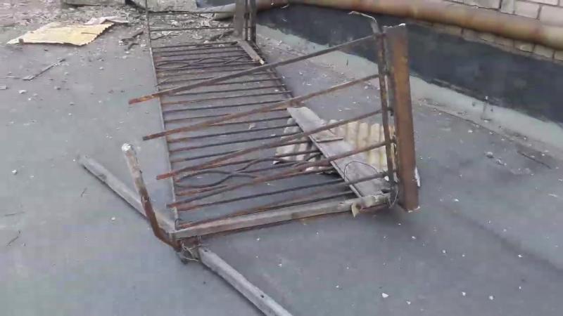 Запорожье 26.05.17. На площади Профсоюзов упал балкон. ч 2