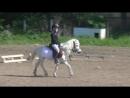 Алина Никитина и Нолик езда