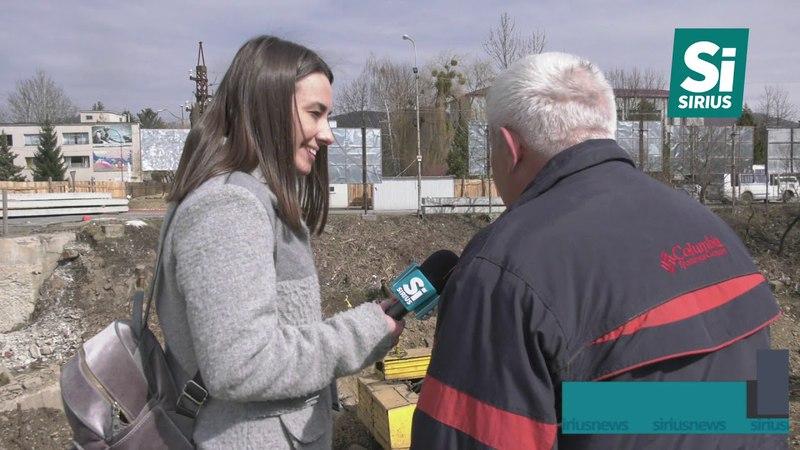 У Сваляві відновили реконструкцію мосту