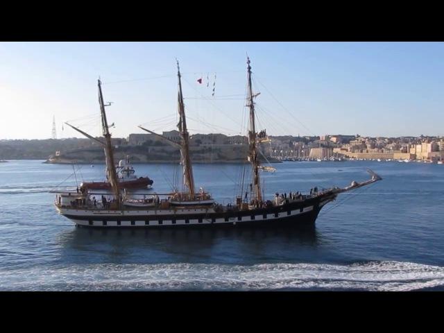 Italian Navy Training Ship Palinuro visits Malta, 1 Aug. 2017