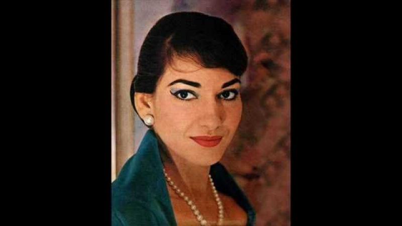 Maria Callas, Norma - Casta Diva - Bellini