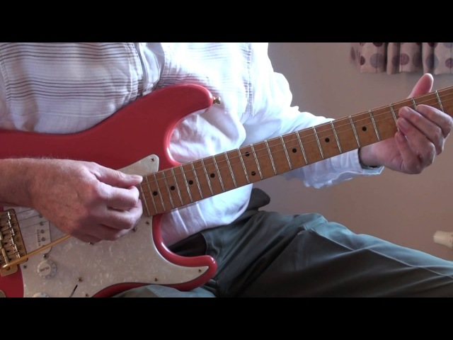 The Good The Bad The Ugly Hank Marvin cover Phil McGarrick