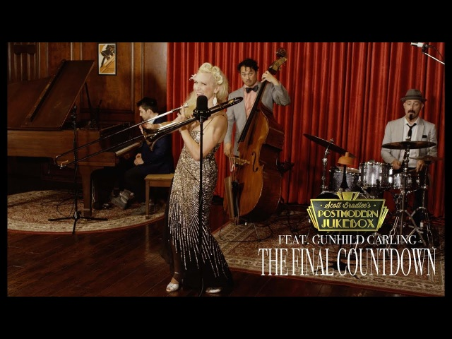 The Final Countdown Europe Vintage Cabaret Cover ft Gunhild Carling