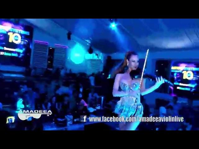 Amadeea The Violin Sensation @ Le GAGA