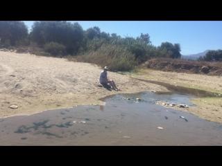 VLOG - изучаем новый пляж