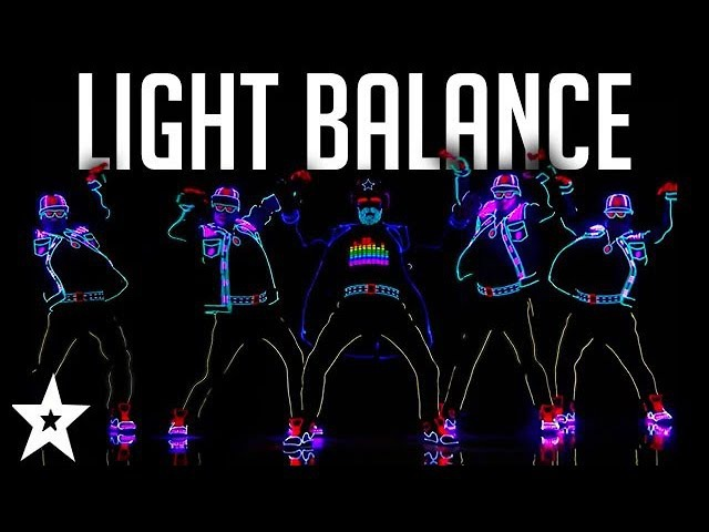 Light Balance FINALIST ALL Performances America's Got Talent 2017