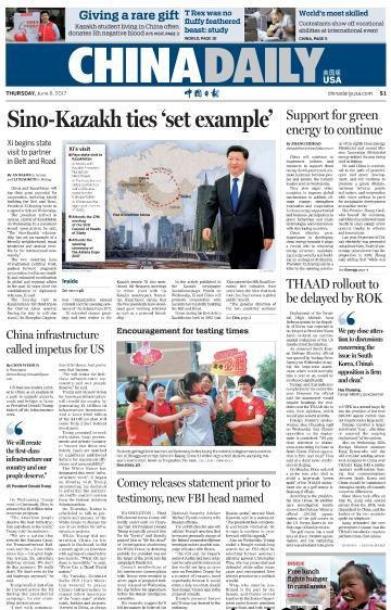 China Daily USA - June 8, 2017