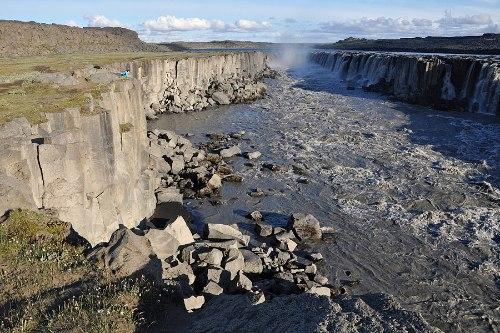 Деттифосс (Dettifoss) — самый мощный водопад в Европе, изображение №2