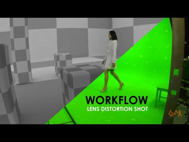 VFX Lens Distortion Workflow With PF Track, Maya Nuke
