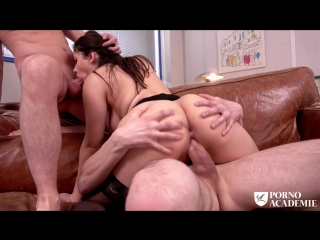 Valentina Nappi - MMF ANAL THREESOME WITH TEACHER VALENTINA NAPPI Anal, DP, Blowjob, All Sex