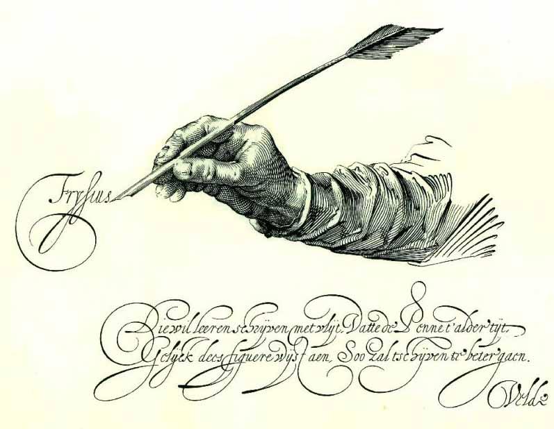Что первое приходит на ум, когда мы слышим слово «каллиграфия»?, изображение №1