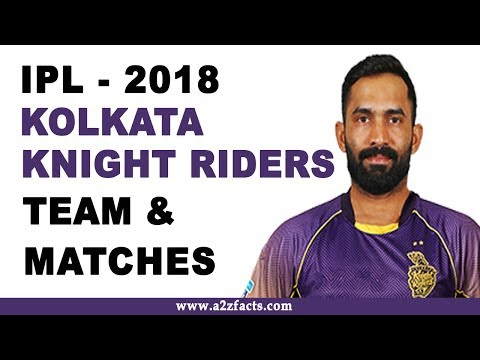 Kolkata Knight Riders IPL 2018 Team and Matches Details смотреть онлайн видео — HDxit.ru