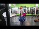 Юлия Зауголова - тяга-сумо 160х11 (без ремня)