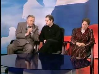 Жириновский на дебатах...