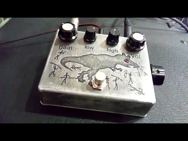 PSHC pdls Tyrannosaurus Rat Bass Distortion Drive lofi demo
