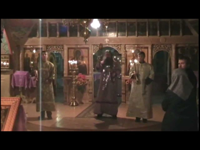 Служба Рождество Христово в Сарикёй (Старообрядцы - Lipoveni - Old believers)