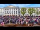 Шествие на 9 Мая! Бессмертный полк в этом году в параде приняло участие около 20000 человек!