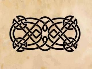 Видео-каталог эскизов для тату. Кельтский узор. Часть вторая.