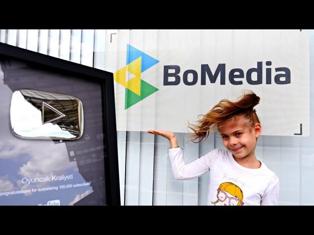 Элис показывает где и как снимают видео для детей!
